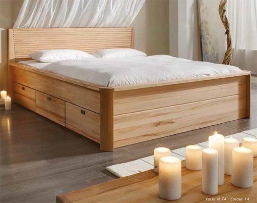 Jabo seng med skuffer