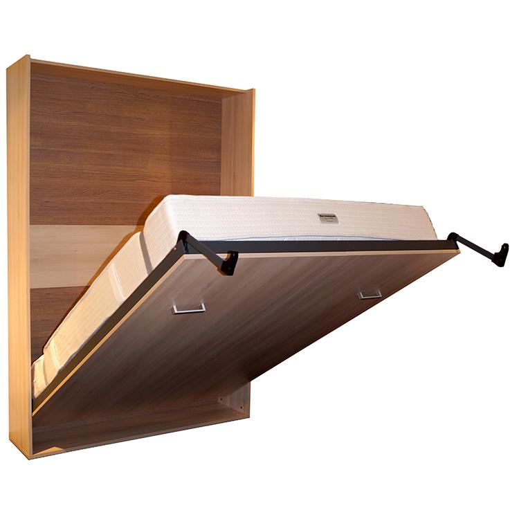 Concept Pro Sängskåp grå med madrass 120x200