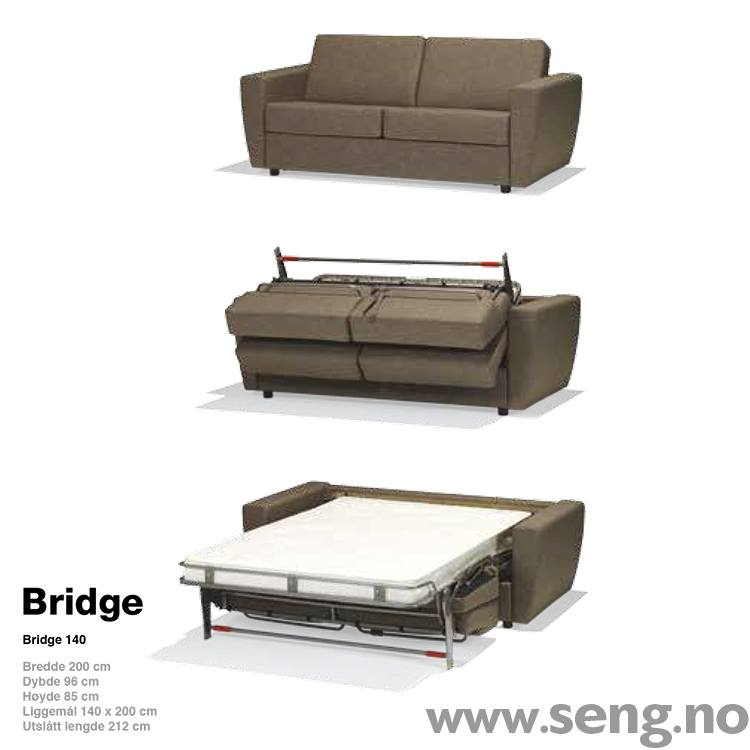 Hovden BEDinside Sovesofa Bridge
