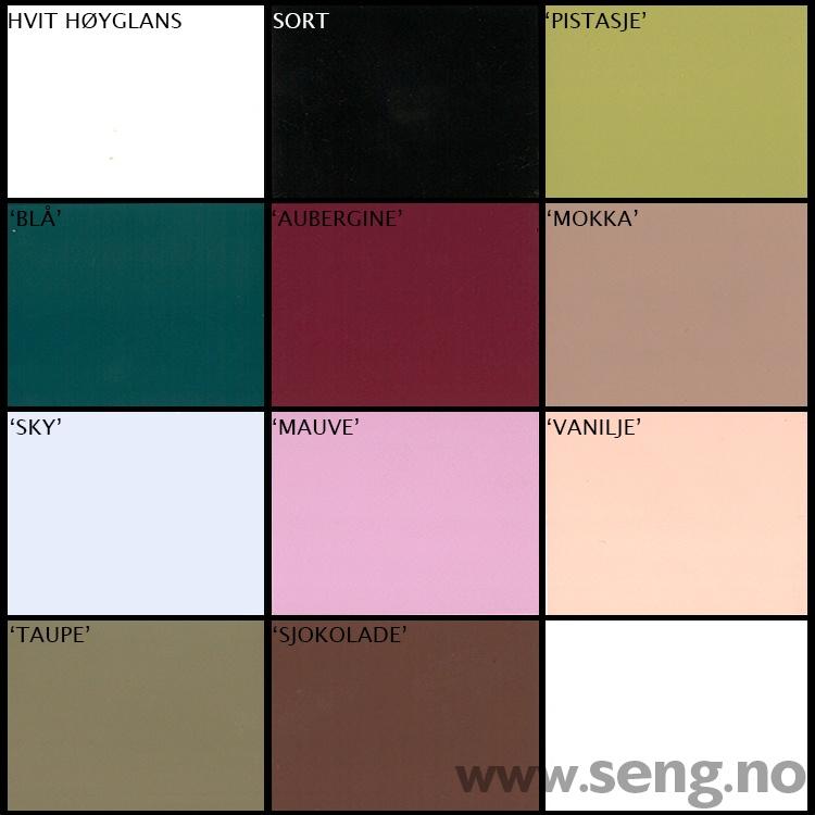 Boone skapseng fargekart