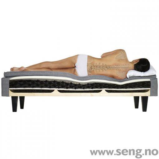 DUX seng korrekt liggestilling