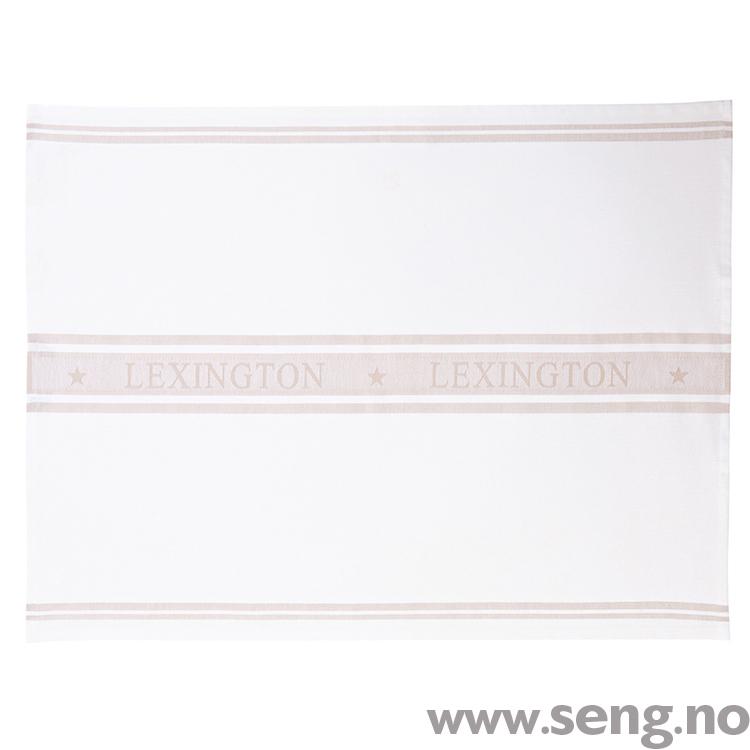 Kjøkkenhåndkle ''Star'' White/Beig