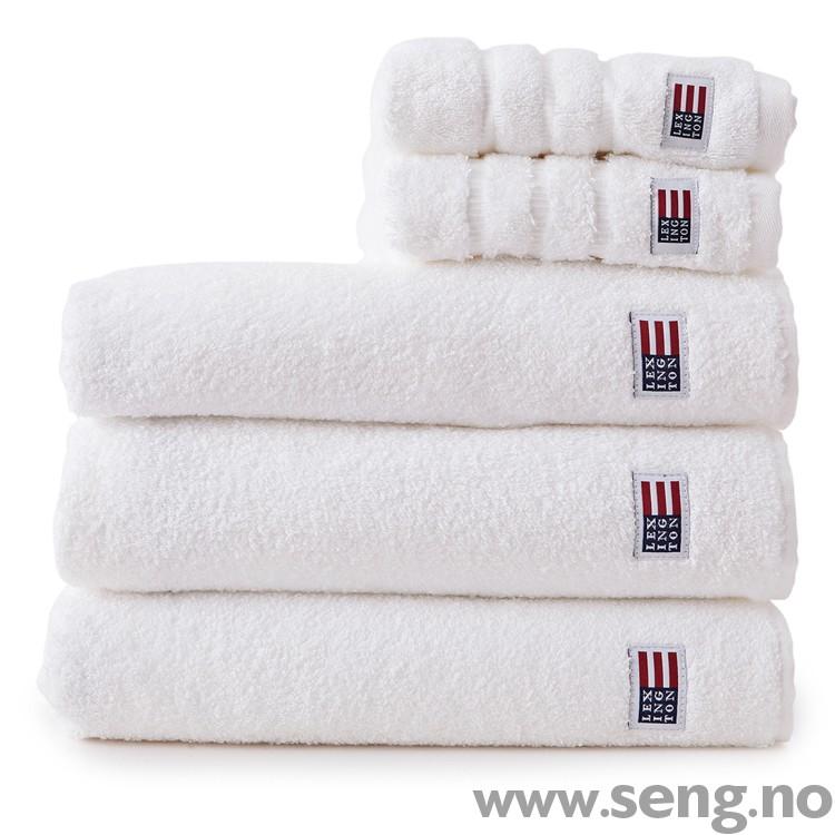 Original White håndklær fra Lexington Company