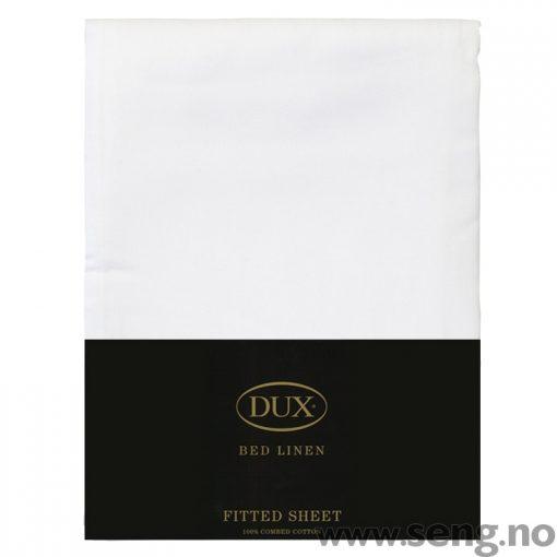 DUX laken formsydd hvit