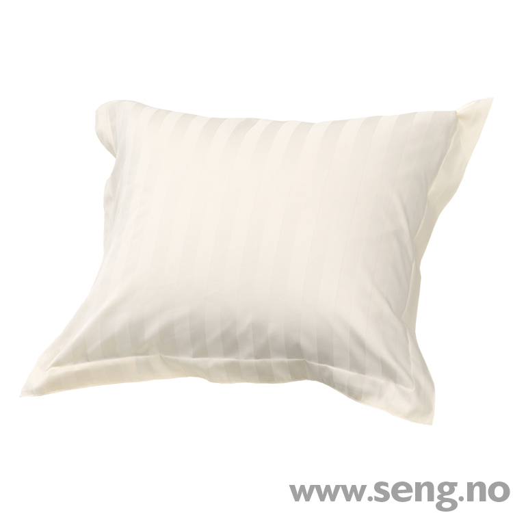 Dux classic stripe beige sengetøy