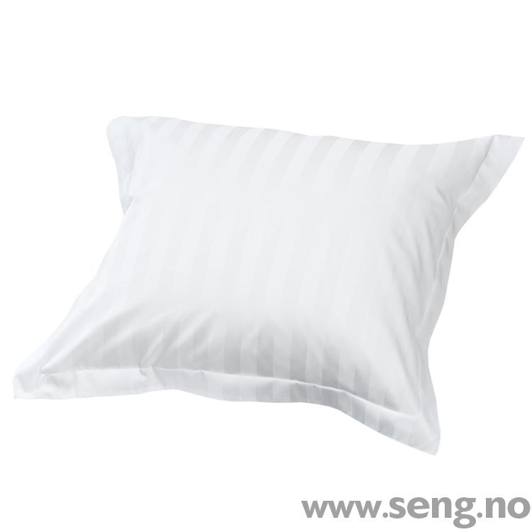 Dux classic stripe white sengetøy