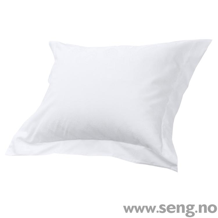 DUX Superior Satin White Paisley sengetøy