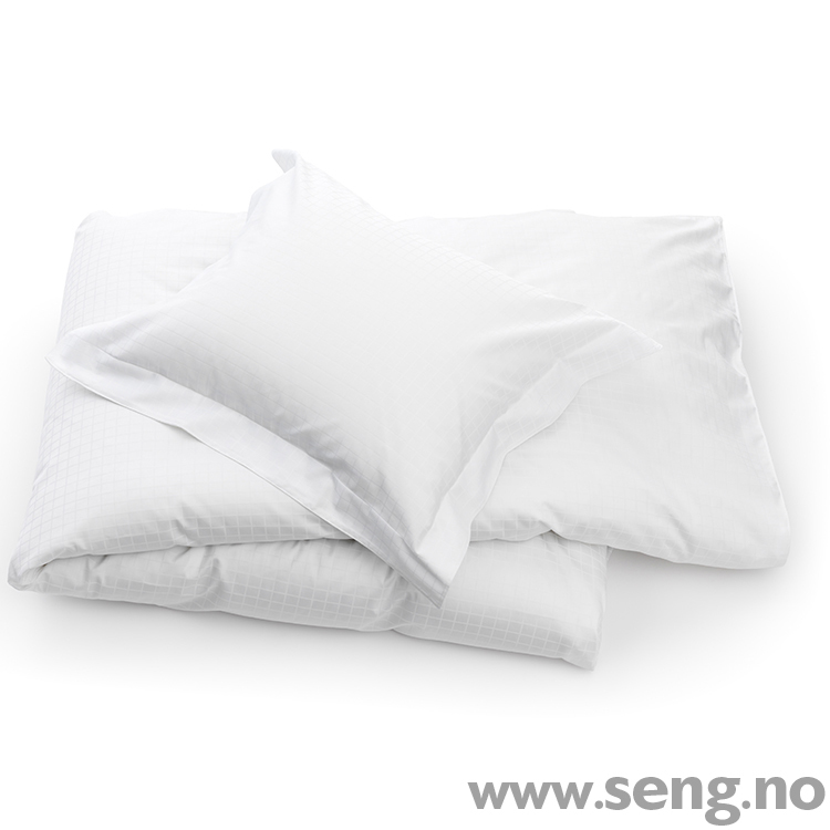 DUX Superior Satin White Square sengetøy