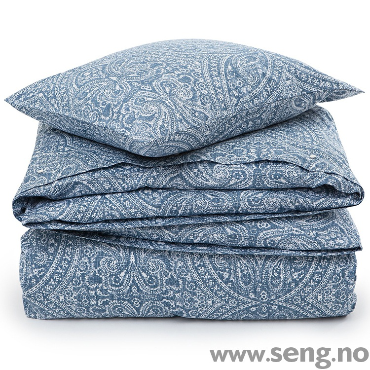 Lexington Printed Sateen Blue