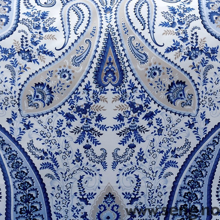 Senget y 39 39 key west paisley capri blue 39 39 fra gant for Stile key west