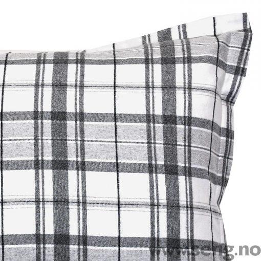 Sengetøy ''Hucker Check'' Grey Flannel