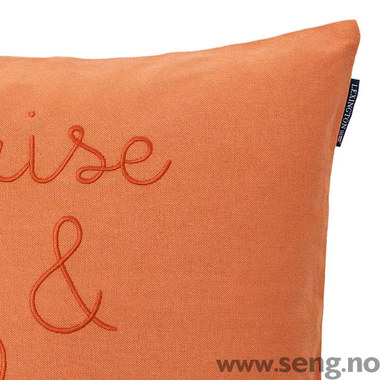 Pyntepute ''Rise & Shine'' Soft Orange