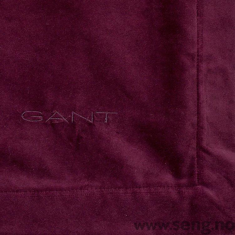Sengeteppe ''Velvet'' Purple Fig