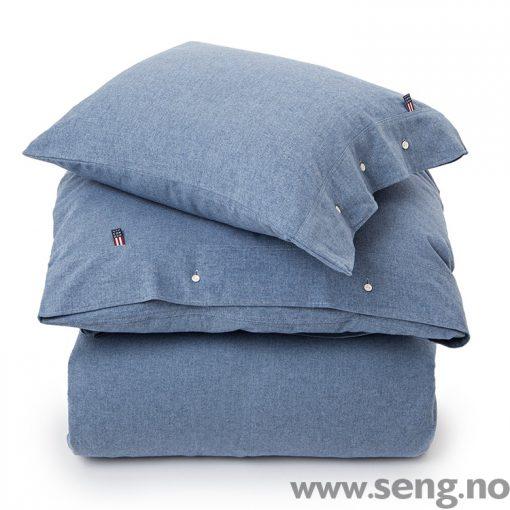Lexington flanell sengetøy dynetrekk putetrekk Herringbone Flannel