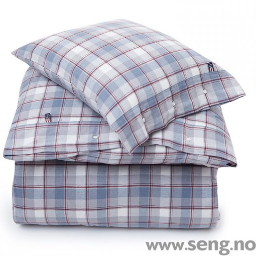 Lexington flanell sengetøy dynetrekk putetrekk Check Flannel