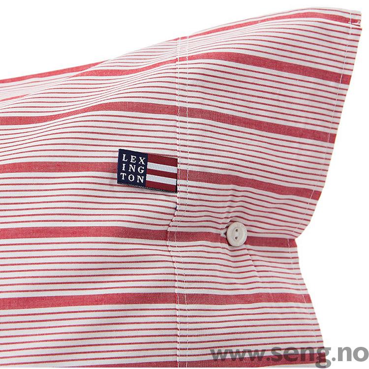 Lexington Red Stripe Poplin