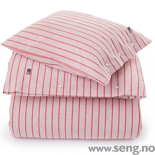 Lexington Red Stripe Poplin