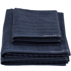 Gant-Håndkle-Line-431-Sateen-Blue
