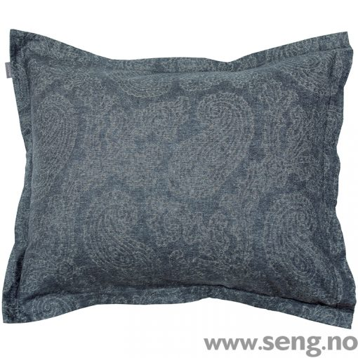 Gant Home Flannel Paisley Grey pillow