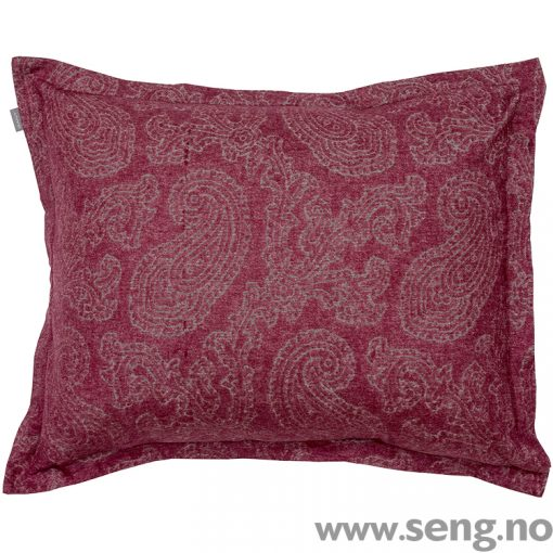 Gant Home Flannel Paisley Purple Fig