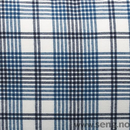 Gant Home Flannel Check Salty Sea