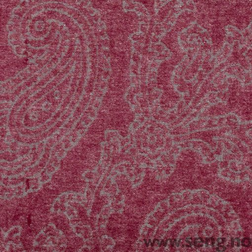 Gant Home Flannel Paisley Purple Fig sengetøy