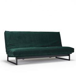 Innovation Fraction Cover Sofa Bed-540-Velvet-Green