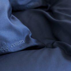 Borås Cotton Cloud deep blue detalj