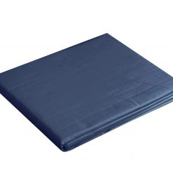 Borås Cotton Cloud flat sheet deep blue
