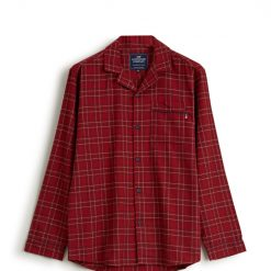 Lexington pysjamas holiday unisex checked flannel red