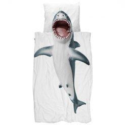 SNURK Shark sengetøy