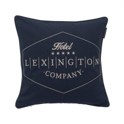 Lexington Hotel Putetrekk Twill Sham Blue 50x50 cm