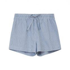 Lexington Pyjamas Organic Blå Shorts