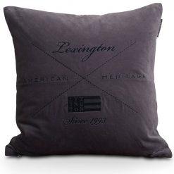 Lexington Putetrekk Velvet Sham gray