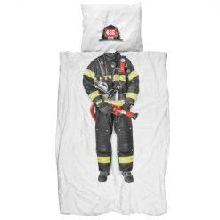 SNURK-sengesett-Firefighter brannmann