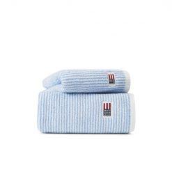 Håndkle ''Original White Blue Striped'' fra Lexington Company