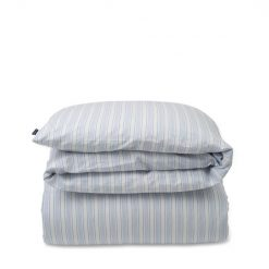Dynetrekk ''Striped Cotton Linen'' Blue fra Lexington Company