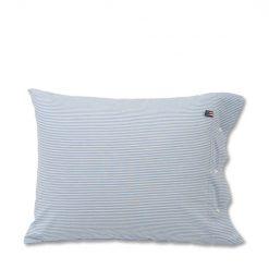 Putetrekk ''Striped Seersucker'' Blue fra Lexington Company