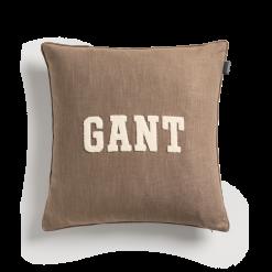 Putetrekk ''GANT Logo'' Desert Brown fra Gant