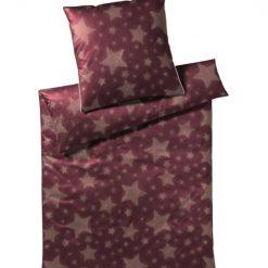 Sengesett ''Cosmos'' Rubinrødt fra Elegante
