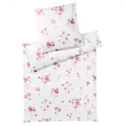 Sengesett ''Poppy'' Rosa fra Elegante