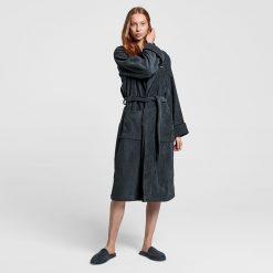 Badekåpe ''Premium Velour Antracite'' fra Gant