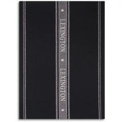 Kjøkkenhåndkle ''Icons Cotton Jacquard Star'' Svart/Hvit fra Lexington Company