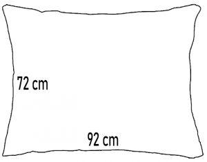 Hotellpute 72 x 92 cm