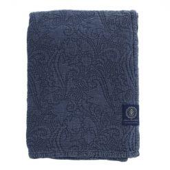 Sengeteppe ''Floral Quilt'' Navy fra Grand Design
