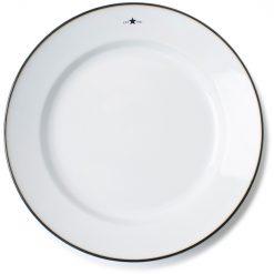 Tallerken ''Stoneware'' Hvit fra Lexington Company