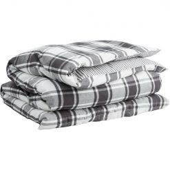 Dynetrekk ''Flannel Check'' Antrasitt fra Gant